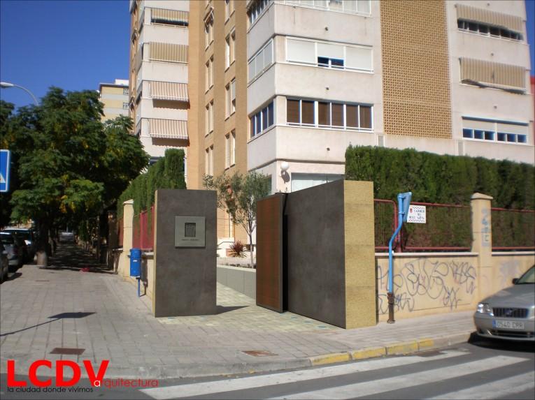 Estudio para nuevo acceso a restaurante en Alicante