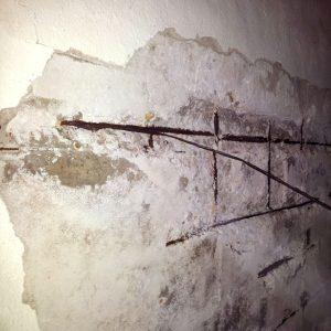 Muro en estado original