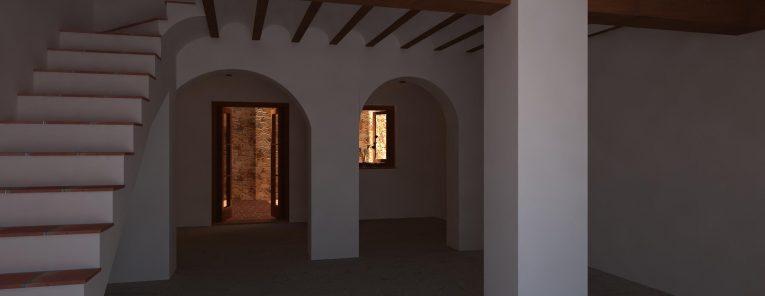 21-6 12h sin tejado sin muro en patio - puerta abierta